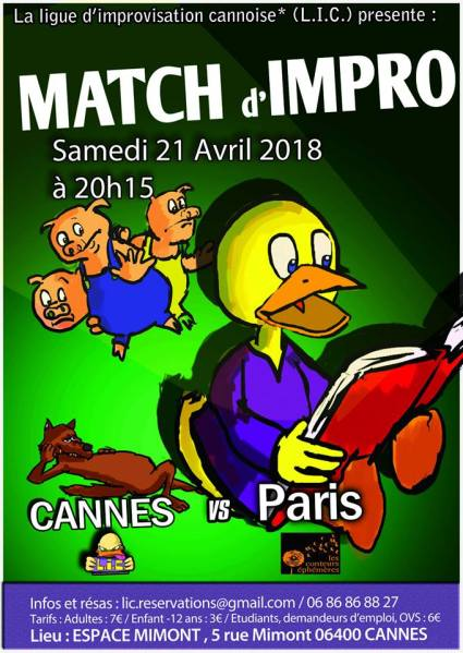 2018-04-21 Match LIC vs Les Ephémères