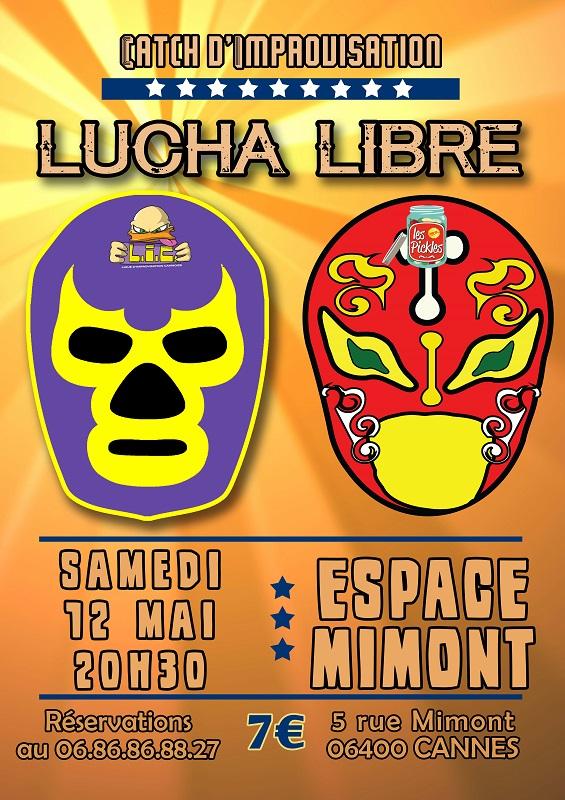 Affiche Lucha Libre LIC Les Pickles 120518 Corr web